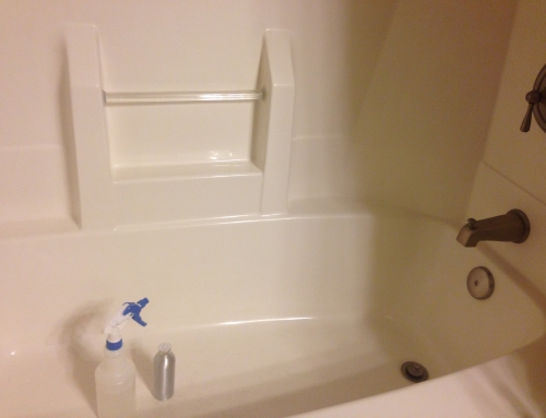 Cleaning a Bathroom the Easy Way (and without chemicals)